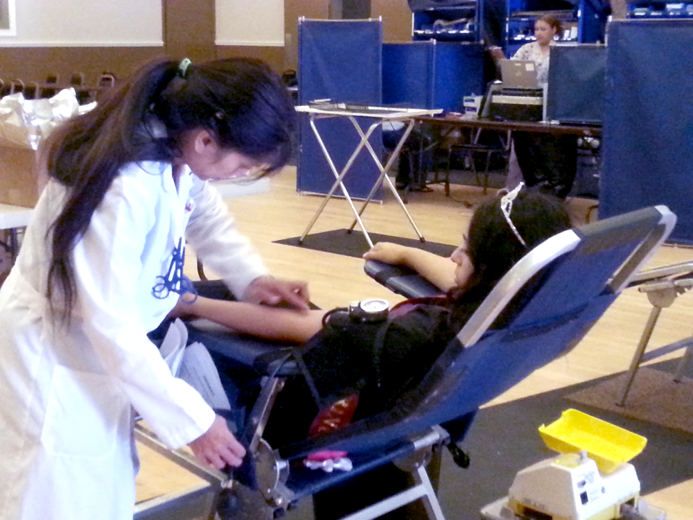 Blood Donation, June 2014