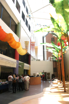 outpatient center atrium